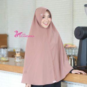 Jual Jilbab Bergo Syari Gosya Mocca Hijab Syandana