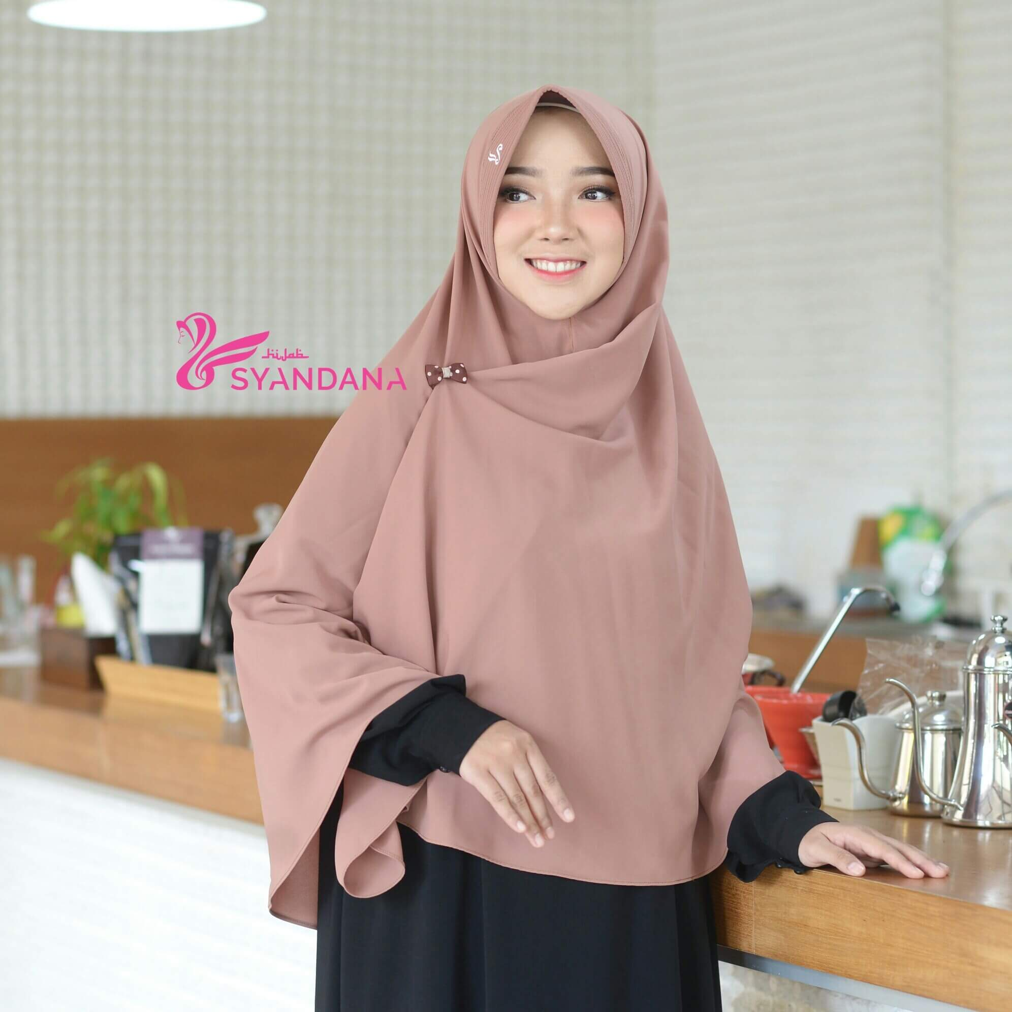 Katalog Hijab Syandana Jilbab Bergo Jual Syari Gosya Mocca