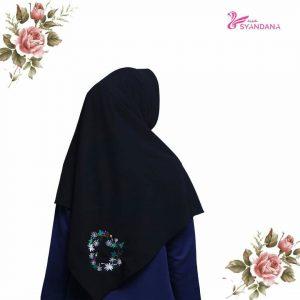 jual jilbab segi empat bordir