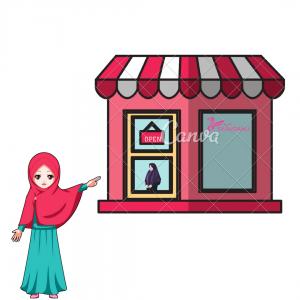 grosir jilbab instan modern murah